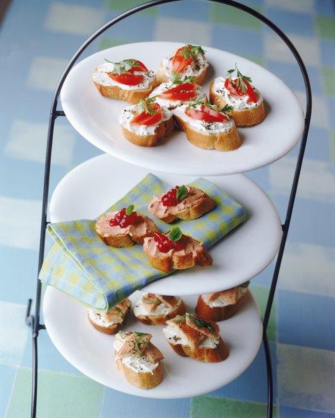 Patês combinam com pães e torradas