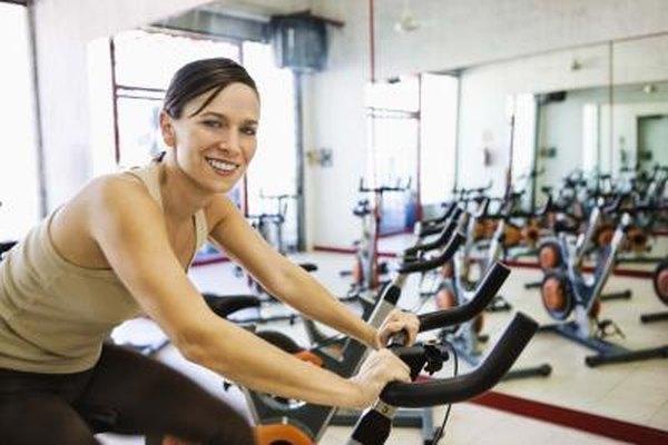 And Stationary treadmill bike
