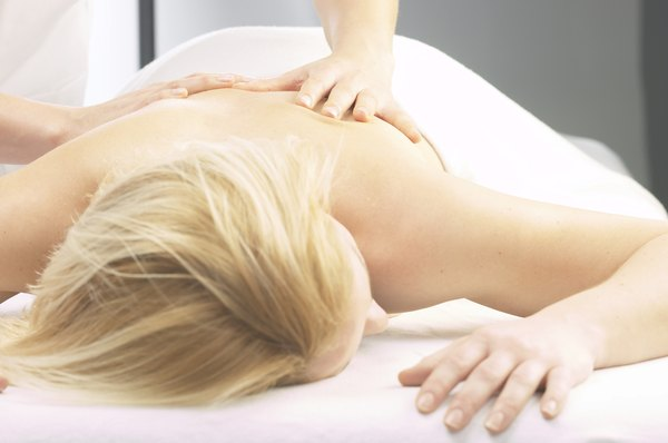 Massage therapists in solo practice earn an hourly wage plus tips.