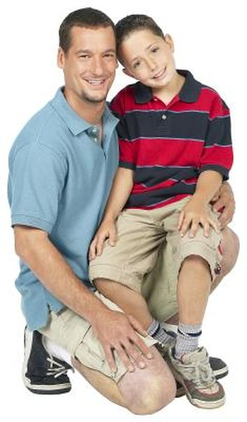 A man's adopted child or stepchild can get survivor benefits on the man's record.
