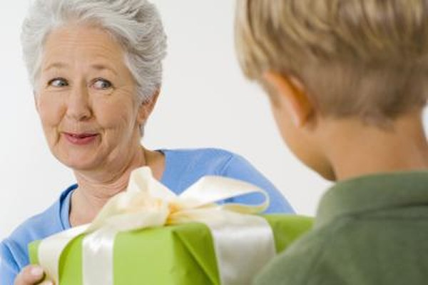 If you get your timing right, giving away gifts could save you money.