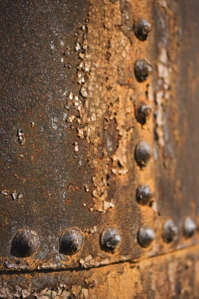 What Chemicals Rust Metal Rapidly Education Seattle Pi