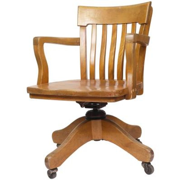 How To Refinish An Oak Office Chair Home Guides Sf Gate