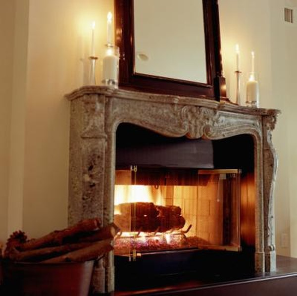 How To Decorate Around A Gas Log Fireplace Home Guides Sf Gate