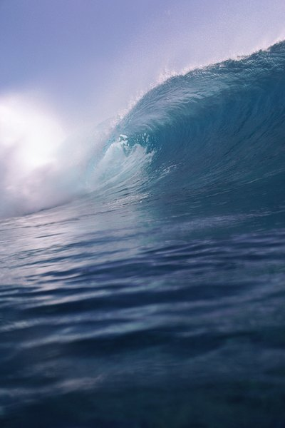 Tsunami would result if a large meteorite collided with an ocean.