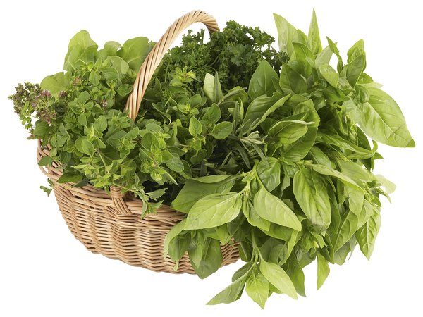 Fresh herbs aren't always available at supermarkets.