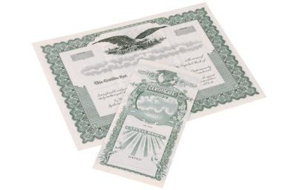 Deposit your stock certificates with your broker for added security.