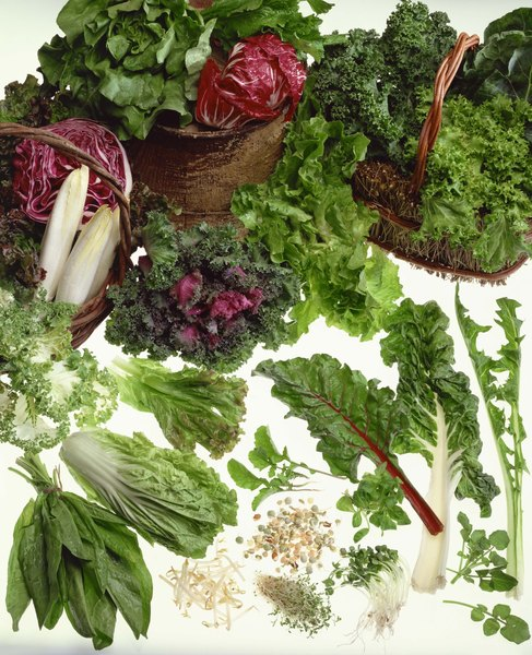 List of Dark Green Leafy Vegetables - Woman