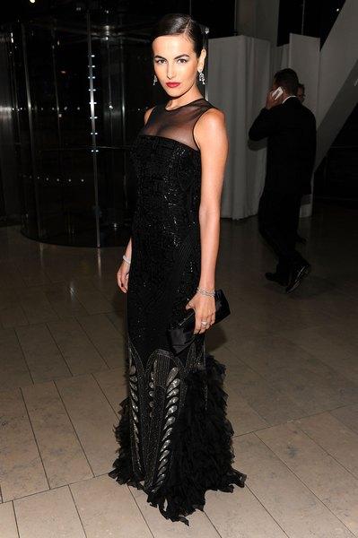 Camila Belle e seu vestido sereia