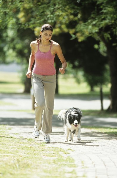 Your dog should match your pace instead of rushing ahead of you.