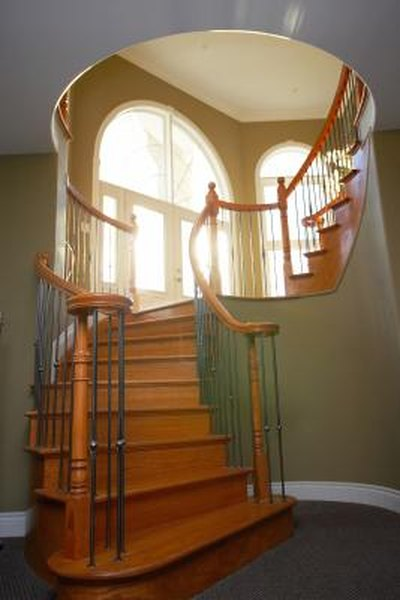 How To Finish The Wood Stairs In A House Home Guides Sf Gate