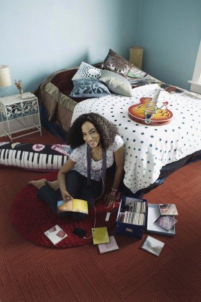 Pura música en la habitación.