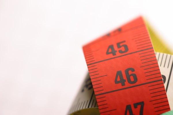Herramienta para medir la tela antes de confeccionar las prendas.