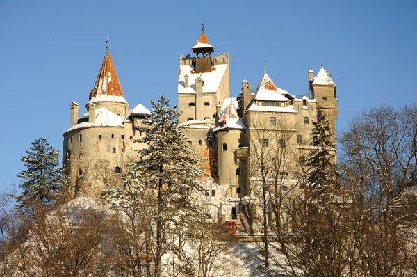 El Castillo de Bran posse 57 habitaciones.