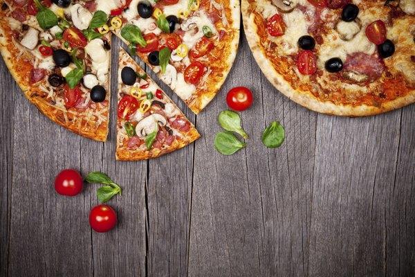 Uma alternativa à pizza tradicional são as opções light