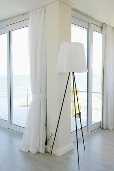 How To Hang Drapes Over A Door Home Guides Sf Gate
