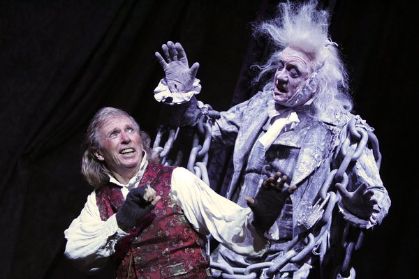 the structural elements of the plot of a christmas carol