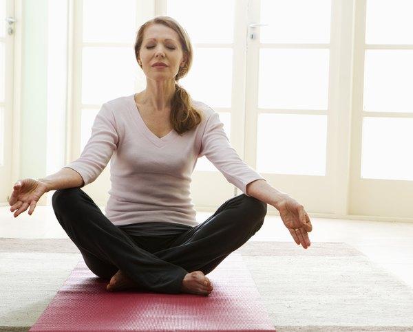 Puedes optar por hacer yoga o meditación, o ambas.