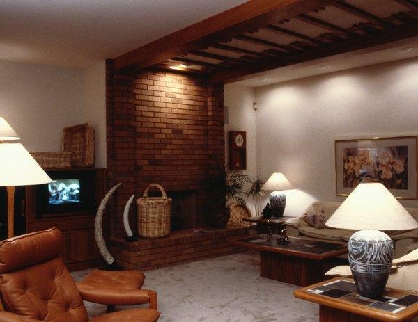 Sala familiar y calor de hogar.