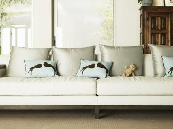 The Easy Way to Reupholster a Couch | Home Guides | SF Gate