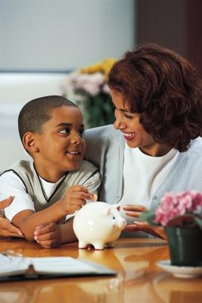 Your child's savings are usually taxed at your rate.