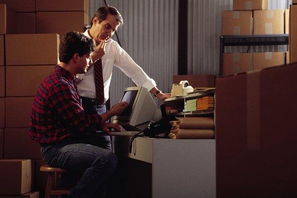 Replenishment Associates Often Help Process Inventory Records Via Computers