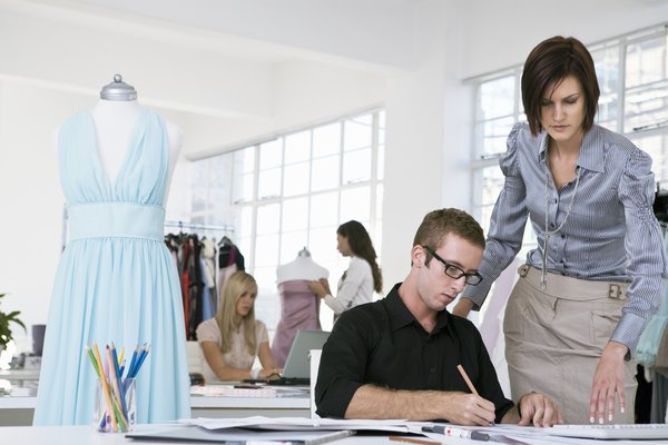 Fashion Design Interns Learn The Ropes Of The Fashion Industry From Fashion  Professionals.