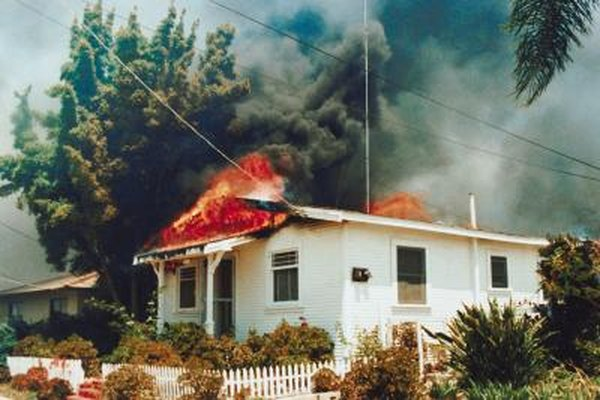 Basic homeowners policies cover damage due to fire.
