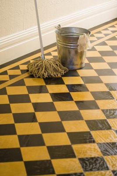 How To Clean Sticky Tile Floors Home Guides SF Gate - Clean tile floors without residue