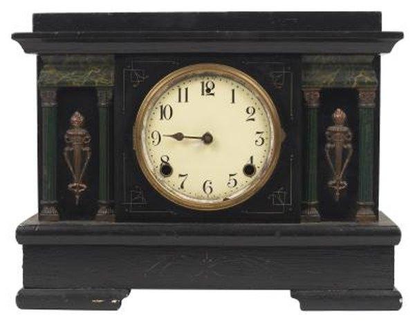 How to Identify Civil War-Era Wooden Mantel Clocks   Home