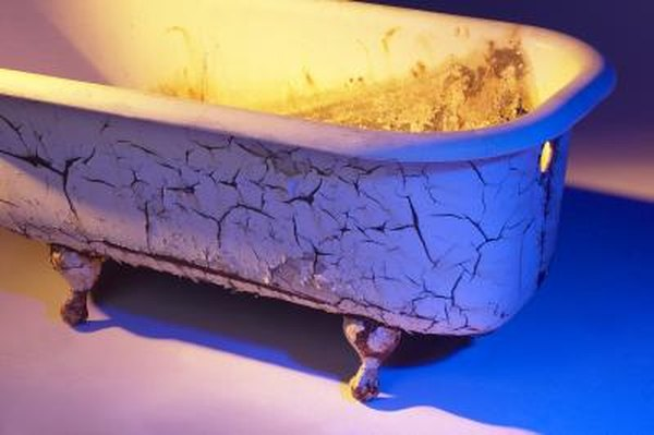 How to Fix a Crack in a Cast Iron Bathtub | Home Guides | SF