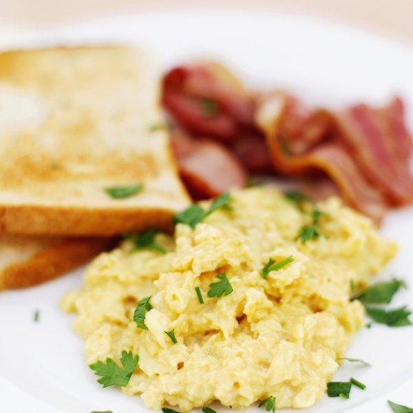 Huevos revueltos.
