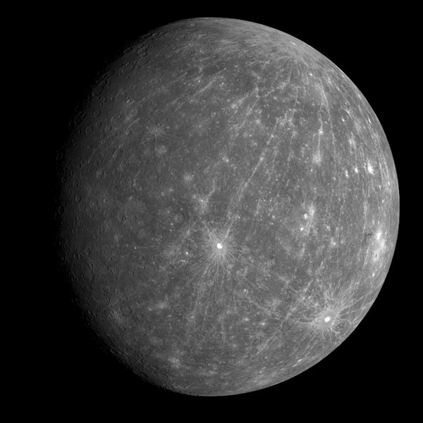 Mercury is hot, but scientists have observed ice on its poles.