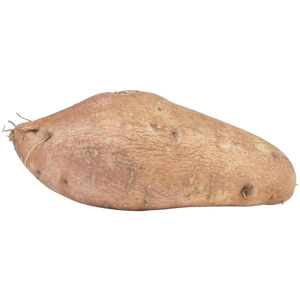 Sweet potatoes contain healthy vitamins and fiber for Fido.