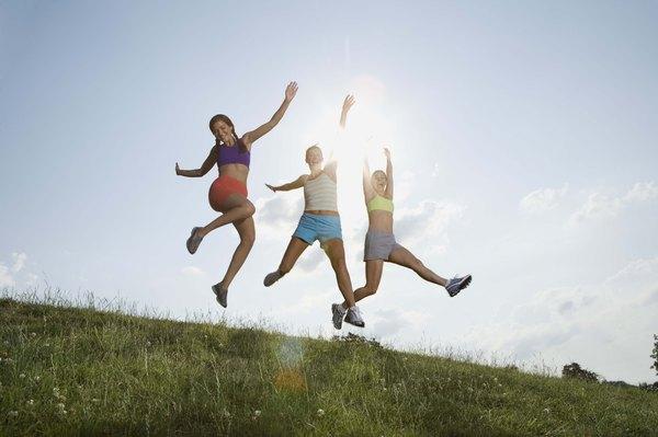 Exercícios ao ar livre são ótimos para uma nova rotina