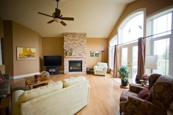 How To Design A Fireplace For A High Ceiling Home Guides Sf Gate