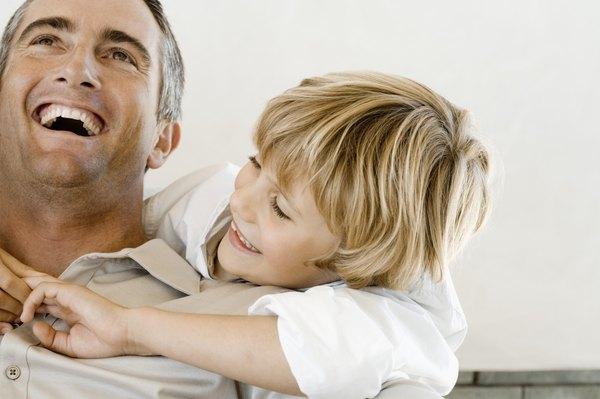 O pai geminiano estimula o intelecto dos filhos