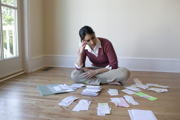 Organizing your receipts can reduce headaches at tax time.