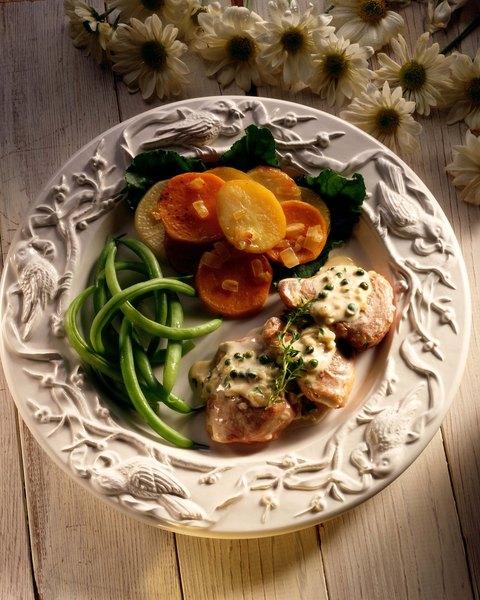 El camote con chile es un plato rico y sencillo.