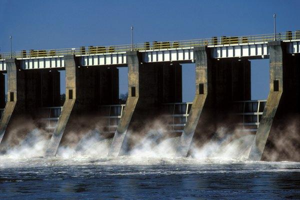 A Hydroelectric dam.
