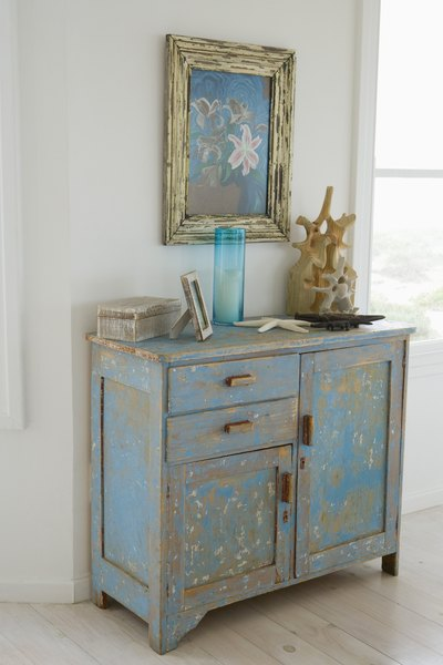 How To Make New Wood Furniture Look Shabby Chic Home