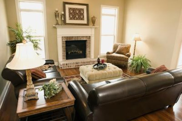 How To Decorate Around An Expensive Leather Couch Home