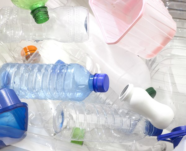 Discarded plastics add to water pollution