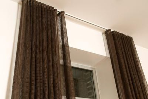 How to Hang Pocket Rod Curtains With a Pin Hook | Home Guides | SF Gate