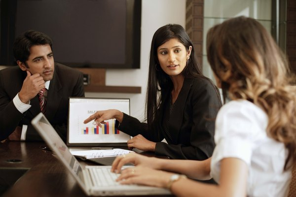Financial teams record and analyze data and make recommendations to management.