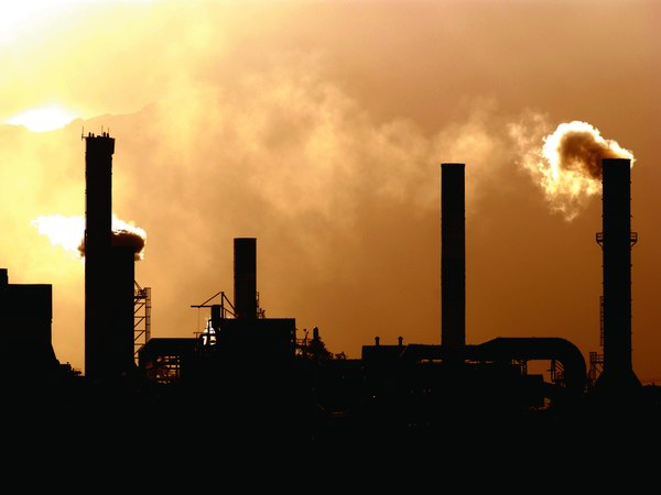 Factories add to air pollution