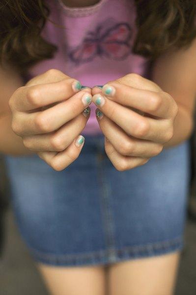 Não maltrate as unhas