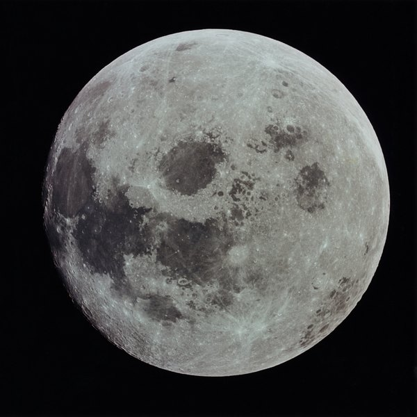 A full moon is one of the phases of the moon.