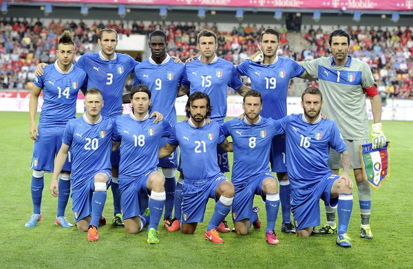A Itália é o máximo campeão da Europa, com quatro títulos