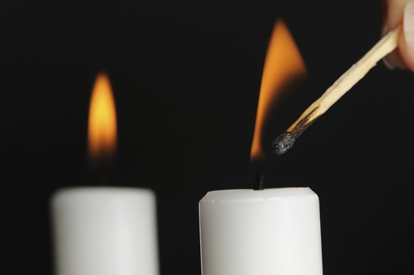 Light candles.